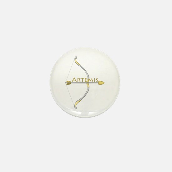 Bow of Artemis Mini Button