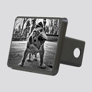 Dudley English Bulldog Rectangular Hitch Cover