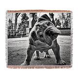 Bulldog Woven Blankets
