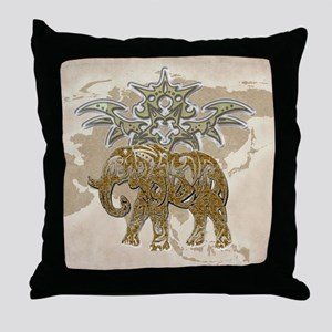 Out of Asia Throw Pillow