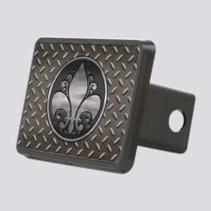 Fleur De Metal Rectangular Hitch Cover