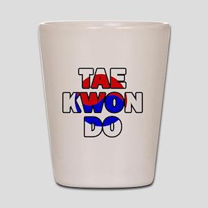 Taekwondo 001 Shot Glass