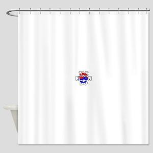 Taekwondo 001 Shower Curtain
