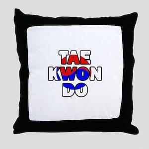 Taekwondo 001 Throw Pillow