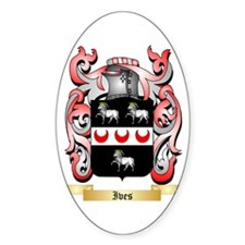 Ives Sticker (Oval)