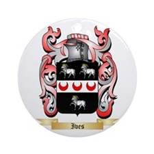 Ives Ornament (Round)