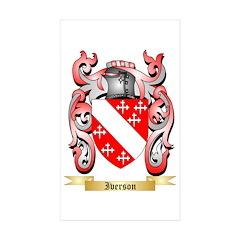 Iverson Sticker (Rectangle 50 pk)
