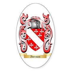 Iverson Sticker (Oval 10 pk)