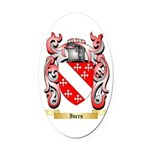 Ivers Oval Car Magnet