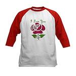 I Love You Rose Baseball Jersey