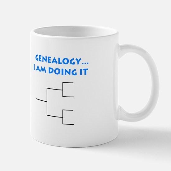 Genealogy ...  I am doing it            ( Mormon)