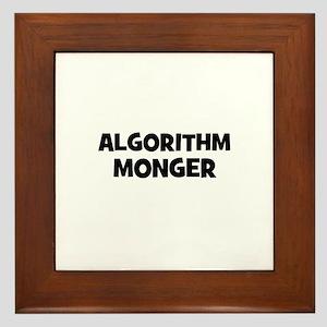 Algorithm Monger Framed Tile