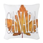 Canada Souvenir Woven Throw Pillow