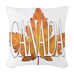 Canada Souvenir Woven Throw Pillow