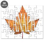 Canada Souvenir Puzzle