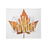Canada Souvenir Throw Blanket