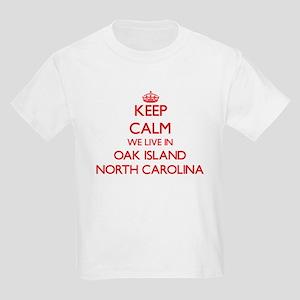 Keep calm we live in Oak Island North Caro T-Shirt