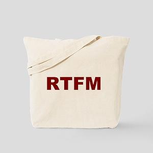 RTFM Tote Bag