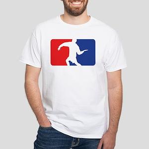 Forehand Huck White T-Shirt