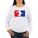 Forehand Huck Women's Long Sleeve T-Shirt