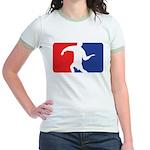 Forehand Huck Jr. Ringer T-Shirt