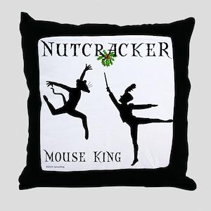 Mouse King Throw Pillow