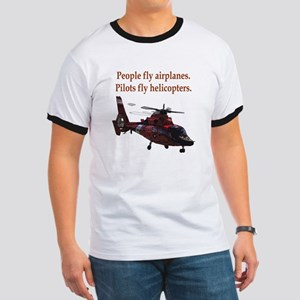 Pilots fly helis Ringer T