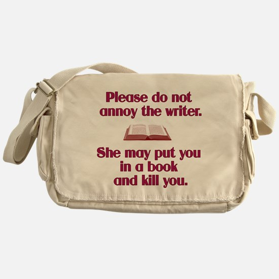 Cute Author Messenger Bag