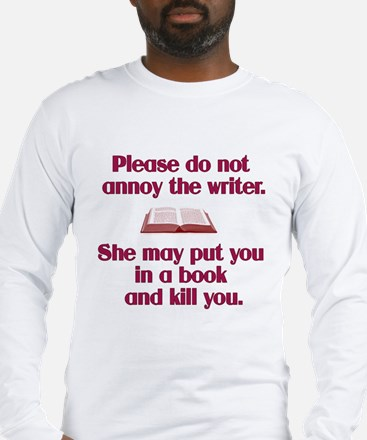Cute For writers Long Sleeve T-Shirt