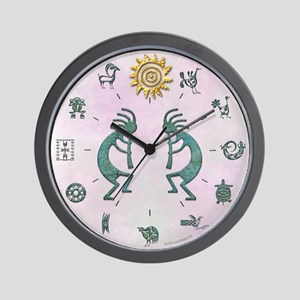 Native American Symbols Wall Clock