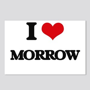 I Love Morrow Postcards (Package of 8)