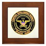 CIA CIA CIA Framed Tile