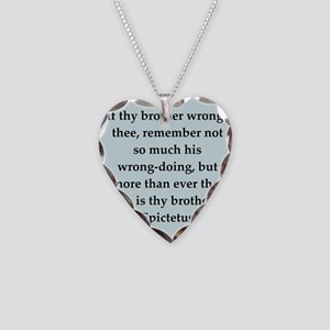 10 Necklace Heart Charm