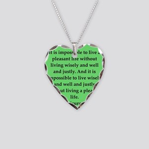 9 Necklace Heart Charm