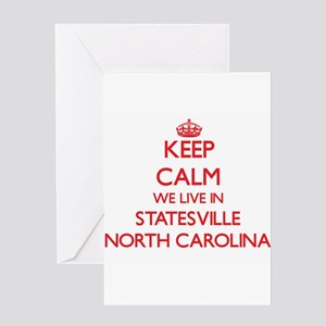 Keep calm we live in Statesville No Greeting Cards