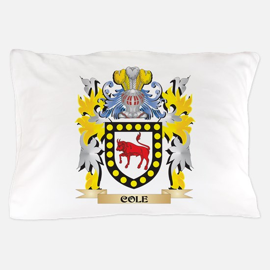 Cole Coat of Arms - Family Crest Pillow Case