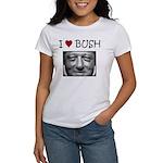 Clinton Loves Bush Women's T-Shirt