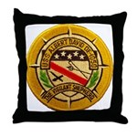 USS ALBERT DAVID Throw Pillow