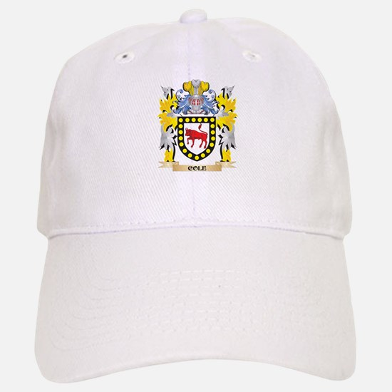Cole Coat of Arms - Family Crest Baseball Baseball Cap