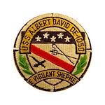 USS ALBERT DAVID Button