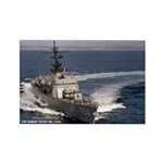 USS ALBERT DAVID Rectangle Magnet (10 pack)