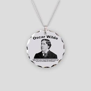 Wilde: Democracy Necklace Circle Charm