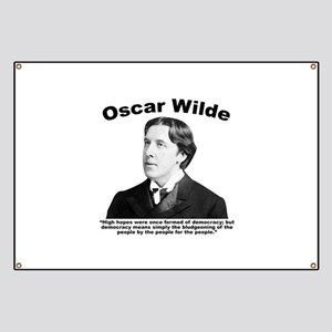 Wilde: Democracy Banner