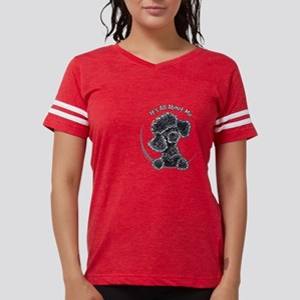 Black Poodle IAAM Pocke T-Shirt