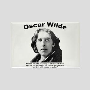 Wilde: Crime Rectangle Magnet