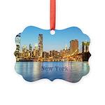 New York Picture Ornament