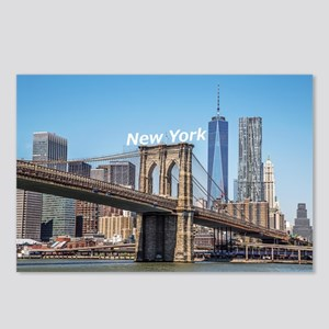 New York Postcards (Package of 8)