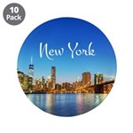 """New York 3.5"""" Button (10 pack)"""