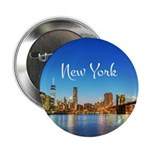 """New York 2.25"""" Button (100 pack)"""