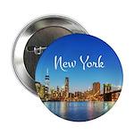 "New York 2.25"" Button"